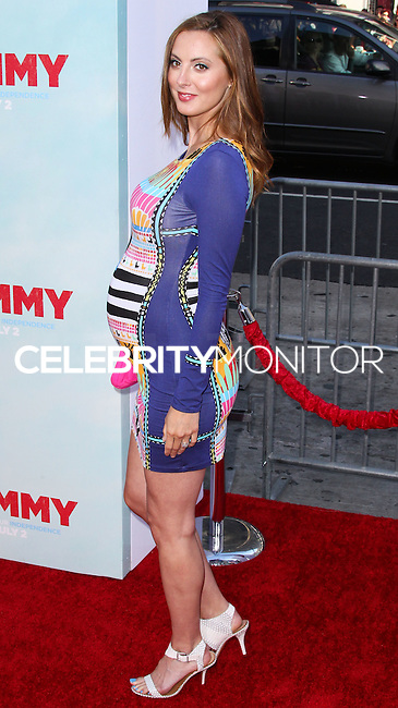 HOLLYWOOD, LOS ANGELES, CA, USA - JUNE 30: Actress Eva Amurri Martino arrives at the Los Angeles Premiere Of Warner Bros. Pictures' 'Tammy' held at the TCL Chinese Theatre on June 30, 2014 in Hollywood, Los Angeles, California, United States. (Photo by Xavier Collin/Celebrity Monitor)