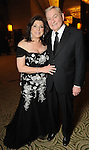 Honoree Laura Ward and her husband Dave Ward at the Winter Ball at the Hilton Americas Hotel Saturday Jan. 22,2011.(Dave Rossman/For the Chronicle)