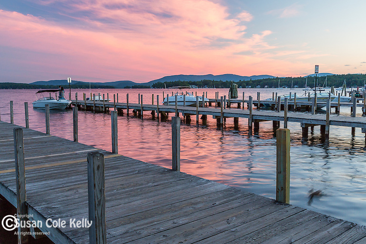 Lake Winnipesaukee in Wolfeboro, New Hampshire, USA