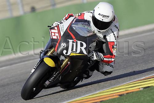 01/03/2010 Ricardo Tormo Circuit Valencia ESP MotoGP Mattia Pasini  riding for the JiR team. Photo: Imago/Actionplus. Editorial Use UK.