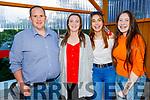 Michael Moran, Shannon, Caitlin and Megan Daly enjoying the evening in Ristorante Uno on Saturday.