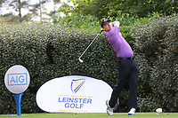 Colin Cunningham (Carton House) during the 2017 AIG Leinster Senior Cup Final at Malahide Golf Club.. 27/08/2017<br /> <br /> Picture Jenny Matthews / Golffile.ie<br /> <br /> All photo usage must carry mandatory copyright credit (&copy; Golffile | Jenny Matthews)