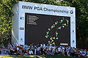 Greeni screen in use on 18th during the third round of the BMW PGA Championship played on the West Course, Wentworth Club, Virginia Water, Surrey, England 24 - 27 May 2012. (Picture Credit / Phil Inglis)