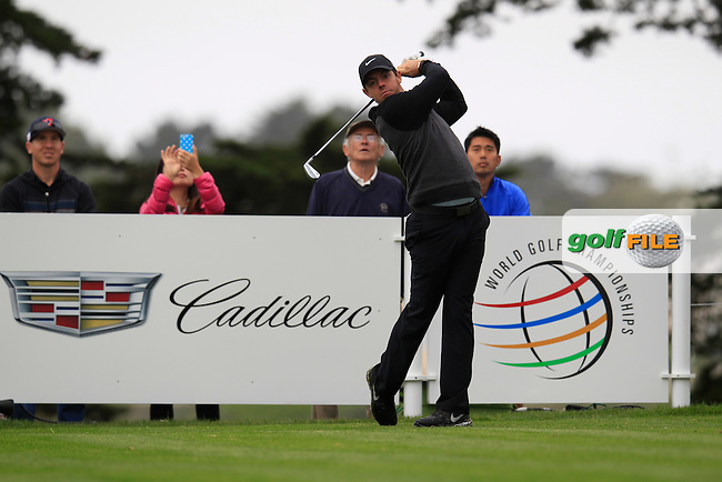 Rory McIlroy (NIR) during the Pro-Am at TPC Harding Park, 99 Harding Road, San Francisco, CA 94132, United States. 28/04/2015<br /> Picture Fran Caffrey, www.golffile.ie