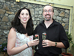 Maureen and Peter Hamill at the Opening of D'Vine Restaurant, Dyer Street...Photo NEWSFILE/Jenny Matthews.(Photo credit should read Jenny Matthews/NEWSFILE)....This Picture has been sent you under the condtions enclosed by:.Newsfile Ltd..The Studio,.Millmount Abbey,.Drogheda,.Co Meath..Ireland..Tel: +353(0)41-9871240.Fax: +353(0)41-9871260.GSM: +353(0)86-2500958.email: pictures@newsfile.ie.www.newsfile.ie.FTP: 193.120.102.198.