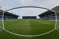 General view of Kassam Stadium, home of Oxford United Football Club ahead during the Sky Bet League 1 match between Oxford United and Fleetwood Town at the Kassam Stadium, Oxford, England on 10 April 2018. Photo by David Horn.