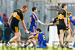 Dr Crokes celebrate after defeating Kenmare District in the Senior County Football Championship final at Fitzgerald Stadium on Sunday.