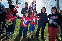 De Ronde van Vlaanderen 2012..Norway fans