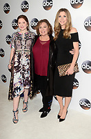 PASADENA, CA - JANUARY 8: Emma Kenney, Roseanne Barr, Sarah Chalke at Disney ABC Television Group's TCA Winter Press Tour 2018 at the Langham Hotel in Pasadena, California on January 8, 2018. <br /> CAP/MPI/DE<br /> &copy;DE/MPI/Capital Pictures