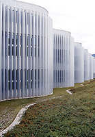 Switzerland, Ticino, Bellinzona, Ex Swisscom, Architect Durish & Nolli; Modern Architecture
