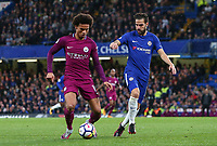 Cesc Fabregas of Chelsea and Leroy Sane of Manchester City <br /> Calcio Chelsea - Manchester City Premier League <br /> Foto Phcimages/Panoramic/insidefoto