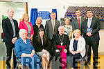 The Official opening of the New Presentation Secondary school Miltown on Tuesday by the Bishop of Kerry  Ray Brown Pictured front l-r  , Sr Columbanus Quirke, Kerry Hartnett, Principal, Bishop Ray Browne and Miriam Ryan, Board Chairperson .   Back l-r  Deacon Conor Bradley, Eileen Kirby, Ann Kelleher, Eoin McCarthy, Mary Costello, Sean Costello and Brendan Griffin TD