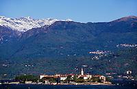 Italien, Piemont, Isola de Pescatori im Lago Maggiore