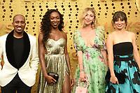 LOS ANGELES - SEP 22:  Chris Redd, Ego Nwodim, Heidi Garner, Melissa Villasenor at the Primetime Emmy Awards - Arrivals at the Microsoft Theater on September 22, 2019 in Los Angeles, CA
