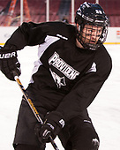 Conor MacPhee (PC - 29) - The Providence College Friars practiced on the rink at Fenway Park on Friday, January 6, 2017.