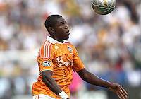 CARSON, CA - DECEMBER 01, 2012:  Kofi Sarkodie (8) of the Houston Dynamo during the 2012 MLS Cup at the Home Depot Center, in Carson, California on December 01, 2012. The Galaxy won 3-1.