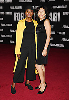 "HOLLYWOOD, CA - NOVEMBER 04: Adina Porter (L) and guest attend the Premiere of FOX's ""Ford V Ferrari"" at TCL Chinese Theatre on November 04, 2019 in Hollywood, California.<br /> CAP/ROT/TM<br /> ©TM/ROT/Capital Pictures"