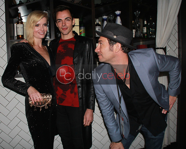 "Eugenia Kuzmina, Ilia Yordanov, Brent Harvey<br /> at the ""Struggleing"" For Your Consideration event hosted by A. Whole Productions and Brent Harvey Films, Crossroads Kitchen, Los Angeles, CA 06-06-18<br /> David Edwards/DailyCeleb.com 818-249-4998"
