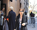General Hospital's Kelly Monaco taped Katie Couric's Talk Show on April 2, 2013 in New York City, New York. Fans came to the show and were outside the studio to greet the actors as they left. (Photo by Sue Coflin/Max Photos)