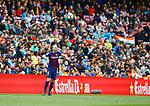 Andres Iniesta, FC Barcelona 2 a 1 Valencia FC Jornada 32 de liga, 14 Abril 2018, Estadio Camp Nou, Barcelona. Photo Martin Seras Lima