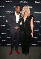 CULVER CITY, CA - MARCH 7: Cory Hardrict, Elisabeth Rohm, pictured at Crackle's The Oath Premiere at Sony Pictures Studios in Culver City, California on March 7, 2018. <br /> CAP/MPIFS<br /> &copy;MPIFS/Capital Pictures