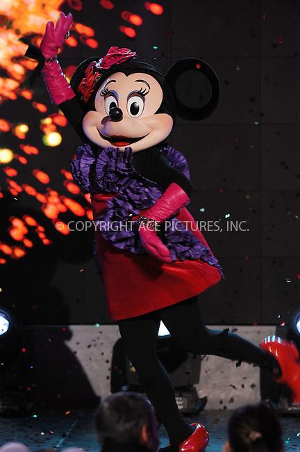 WWW.ACEPIXS.COM . . . . . .November 14, 2012...New York City....Barneys New York and The Walt Disney Company present Electric Holiday with hosts Sarah Jessica Parker and Minnie Mouse on November 14, 2012 in New York City. ....Please byline: KRISTIN CALLAHAN - WWW.ACEPIXS.COM.. . . . . . ..Ace Pictures, Inc: ..tel: (212) 243 8787 or (646) 769 0430..e-mail: info@acepixs.com..web: http://www.acepixs.com .