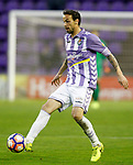 Real Valladolid's Andre Leao during La Liga Second Division match. March 11,2017. (ALTERPHOTOS/Acero)