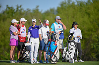 Sung Hyun Park (KOR) tests the wind on 7 tee during round 1 of  the Volunteers of America LPGA Texas Classic, at the Old American Golf Club in The Colony, Texas, USA. 5/5/2018.<br /> Picture: Golffile | Ken Murray<br /> <br /> <br /> All photo usage must carry mandatory copyright credit (&copy; Golffile | Ken Murray)