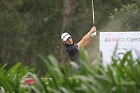 Joakim Lagergren (SWE) on the 2nd tee during Round 3 of the UBS Hong Kong Open, at Hong Kong golf club, Fanling, Hong Kong. 25/11/2017<br /> Picture: Golffile | Thos Caffrey<br /> <br /> <br /> All photo usage must carry mandatory copyright credit     (&copy; Golffile | Thos Caffrey)