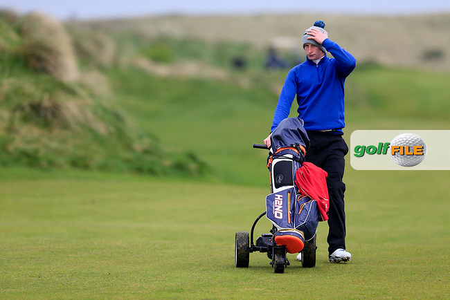 William Small (Tandragee) during the first round of matchplay at the West of Ireland, Co Sligo golf club, Rosses Point, Sligo. 16/04/2017.<br /> Picture: Golffile | Fran Caffrey<br /> <br /> <br /> All photo usage must carry mandatory copyright credit (&copy; Golffile | Fran Caffrey)