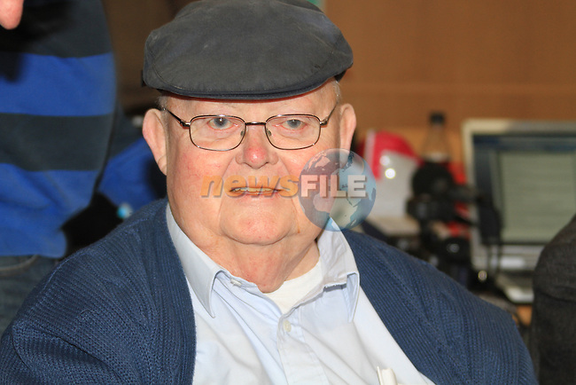 Michael Bell (LAB) retired TD for Louth .at the Louth election count in the DKIT in Dundalk Co Louth..Picture: Fran Caffrey / www.newsfile.ie.