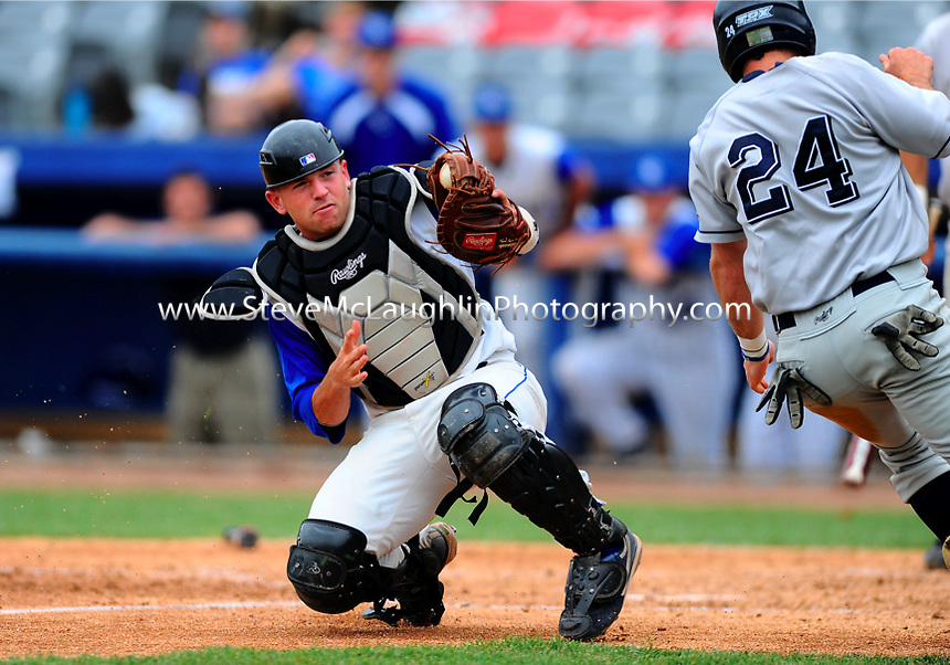 The Central Connecticut baseball season came to an end on Sunday afternoon with a 6-3 loss to Monmouth in an elimination game in the Northeast Conference Tournament.  Central ends the season with a 26-25-1 overall record.  Freshman J.P. Sportman drove in a pair of runs in the loss.  Monmouth advances to face Sacred Heart later on Sunday.