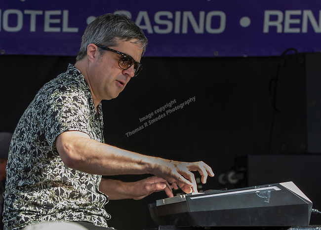 Bob Welsh performs with the Elvin Bishop Big Fun Trio during the 24th Annual Great Eldorado Brews and Blues Festival in Reno, Nevada on Saturday, June 15, 2019.
