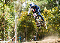 Picture by Alex Broadway/SWpix.com - 08/09/17 - Cycling - UCI 2017 Mountain Bike World Championships - Downhill - Cairns, Australia - Tahnee Seagrave of Great Britain in action during a practice session.