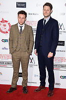Jack Johns<br /> arriving for the Critic's Circle Film Awards 2018, Mayfair Hotel, London<br /> <br /> <br /> ©Ash Knotek  D3374  28/01/2018