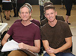 """Mark Brokaw and Spencer Liff In Rehearsal with the Kennedy Center production of """"Little Shop of Horrors"""" on October 11 2018 at Ballet Hispanica in New York City."""