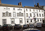 Historic Kings Arms hotel in Berwick-upon-Tweed, Northumberland, England, UK