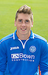 St Johnstone FC 2013-14<br /> Gareth Rodger<br /> Picture by Graeme Hart.<br /> Copyright Perthshire Picture Agency<br /> Tel: 01738 623350  Mobile: 07990 594431