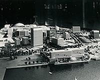 UNDATED.....Model of Downtown Norfolk...NEG#.NRHA#..