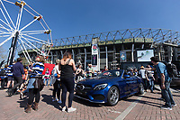 A general view outside the Mercedes Benz stand. The Clash, Aviva Premiership match, between Bath Rugby and Leicester Tigers on April 8, 2017 at Twickenham Stadium in London, England. Photo by: Rogan Thomson / JMP for Onside Images