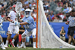 30 MAY 2016: Brian Balkam (30  of the University of North Carolina against  the University of Maryland during the Division I Men's Lacrosse Championship held at Lincoln Financial Field in Philadelphia, PA. Larry French/NCAA Photos