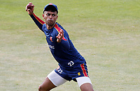 Feroze Kushi of Essex warms up prior to Essex CCC vs Kent CCC, Bob Willis Trophy Cricket at The Cloudfm County Ground on 1st August 2020
