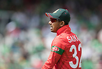 Mosaddek Hossain (Bangladesh) during Pakistan vs Bangladesh, ICC World Cup Cricket at Lord's Cricket Ground on 5th July 2019