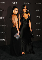 Kourtney Kardashian, Kim Kardashian West attends 2018 LACMA Art + Film Gala at LACMA on November 3, 2018 in Los Angeles, California.    <br /> CAP/MPI/IS<br /> &copy;IS/MPI/Capital Pictures