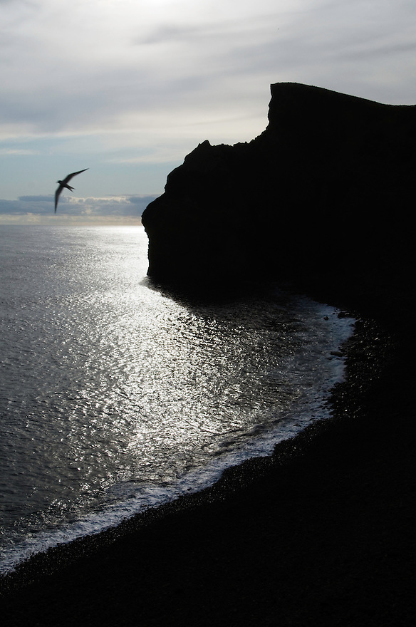 Ponta dos Capelinhos, dry western point of Faial, Azores, Portugal