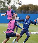 18.09.2019 Rangers training: Jamie Murphy and James Tavernier