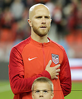 TORONTO, ON - OCTOBER 15: Michael Bradley #4 of the United States during a game between Canada and USMNT at BMO Field on October 15, 2019 in Toronto, Canada.
