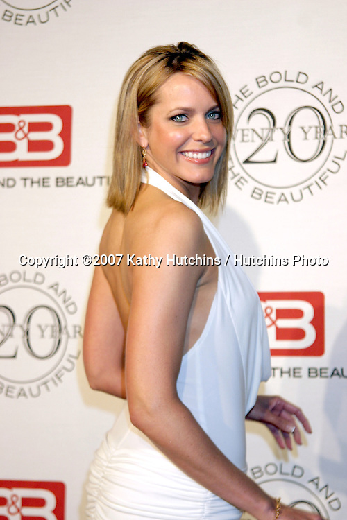 Arianne Zuker.The Bold & The Beautiful 20th Anniversary Party.Two Rodeo Drive.Beverly Hills, CA.March 25, 2007.©2007 Kathy Hutchins / Hutchins Photo.