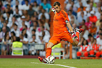 13.09.2014 SPAIN -  La Liga 14/15 Matchday 03th  match played between Real Madrid CF vs Atletico de Madrid Bernabeu stadium. The picture show Iker Casillas (spanish goalkeeper of Real Madrid)