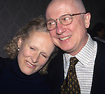 Glenn Close and George Hearn pictured at the 61st Annual Drama League Awards for the theatre at the Plaza Hotel in New York City on March 5, 1995.